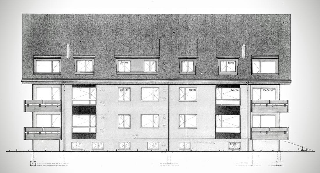 Fassadensanierung und Fensterersatz